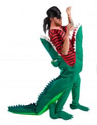 Krokodillenvoer piratenkostuum voor volwassenen