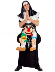 Non gedragen door een priester kostuum voor volwassenen