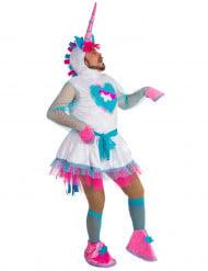 Humoristische eenhoorn kostuum voor heren
