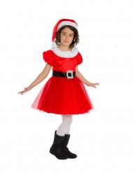Kerstvrouw kostuum voor meisjes - Premium