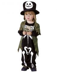 Skelet van de nacht kostuum voor kinderen