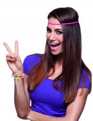 Peace hippie armband voor volwassenen