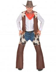 Cowboy kostuum klassiek voor heren