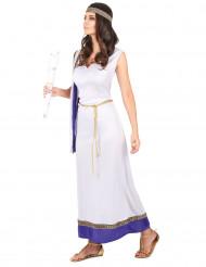 Paars Romeins kostuum voor vrouwen