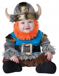 Bebaarde Viking kostuum voor baby