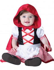 Mini Roodkapje kostuum voor baby