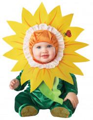 Zonnebloem kostuum voor baby