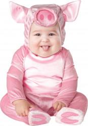 Klein varken kostuum voor baby