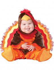 Kalkoen kostuum voor baby's - Luxe