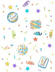 Kleurrijke Happy Birthday confetti