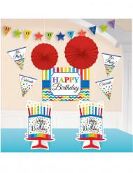 Set 10 Happy Birthday decoraties