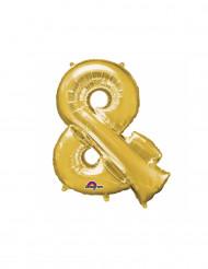 Goudkleurig & symbool ballon
