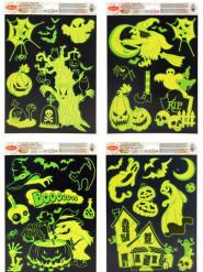 Fosforescerende Halloween raamdecoraties