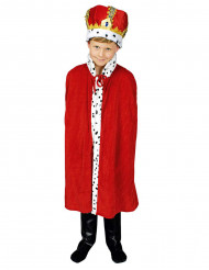 Rode koning cape voor jongens