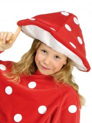 Rode paddenstoel muts voor kinderen