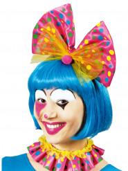 Clown strik en haarband met stippen voor volwassenen