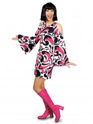 Jaren 70 hippie kostuum voor vrouwen
