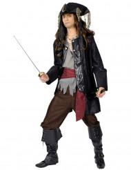 Zwartbaard piratenkostuum voor mannen