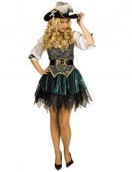 Eilandpiraat kostuum voor vrouwen