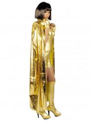 Goudkleurige cape voor volwassenen