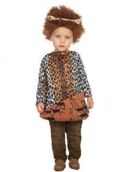 Holbewoner kostuum voor baby
