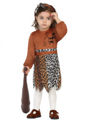 Prehistorisch meisje kostuum voor baby