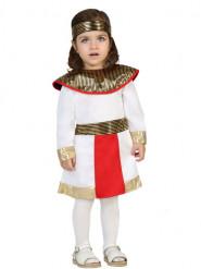Wit Egyptisch kostuum voor baby