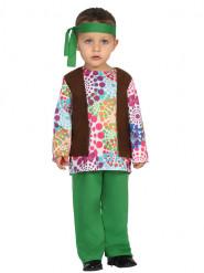 Veelkleurig hippie kostuum voor baby