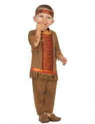 Indianen kostuum met franjes voor baby's