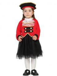 Piraten commandant kostuum voor baby