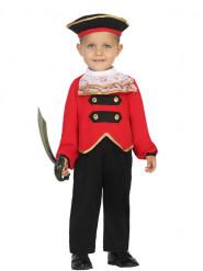 Piraten kapitein kostuum voor baby's