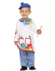 Kleine schilder kostuum voor baby
