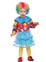 Clownskostuum met tutu voor baby
