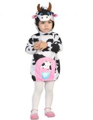 Schattig klein koe kostuum voor baby