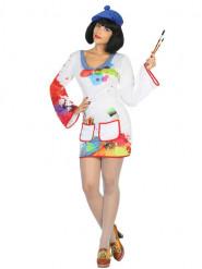 Schilder kostuum voor vrouwen