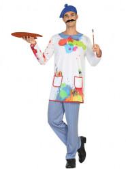 Artistieke schilder kostuum voor heren