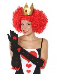 Lange hartenkoningin handschoenen