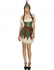 Sexy woud dief kostuum voor vrouwen