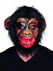 Bloederig latex apenmasker voor volwassenen
