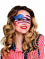 USA masker met glitters voor vrouwen