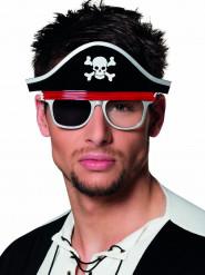 Piraten bril voor volwassenen