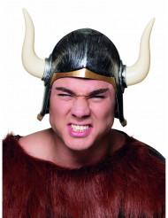 Viking helm met hoorns voor volwassenen