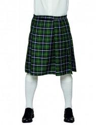 Groene Schotse kilt voor mannen