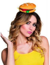 Hamburger haarband voor volwassenen
