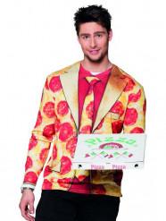Mr Pizza fopshirt voor volwassenen