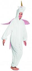 Pluche eenhoorn kostuum voor tieners
