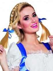 Haarband met vlechten en strikken voor volwassenen