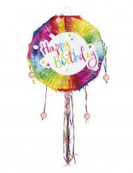 Ronde Happy Birthday pinata