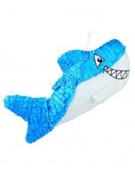 Blauwe haai pinata