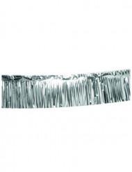 Zilverkleurige slinger met franjes